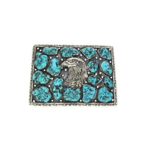 about mens turquoise belt buckles
